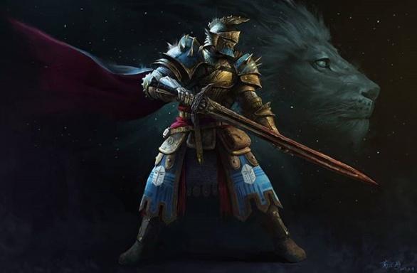 Charron Adhémar Knight of the Realm!